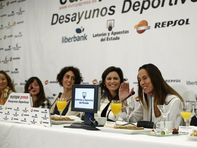 """Foto: Valdemoro: """"Sáez siempre apuesta e invierte por el deporte femenino"""""""