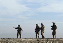 Tropas estadounidenses destacadas en Afganistan.