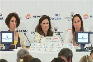 El CSD y deportistas defienden el papel de la mujer