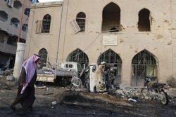 Bombardeos en Raqqa.