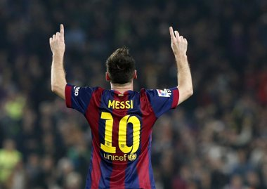 Foto: Victoria de Messi (GUSTAU NACARINO / REUTERS)