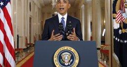 """Foto: Obama critica la """"destrucción"""" en Ferguson y advierte de que juzgarán a quien participe en actos violentos (JIM BOURG / REUTERS)"""