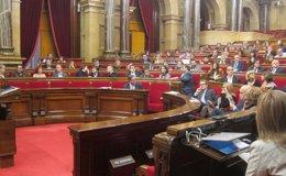 Foto: La oposición examina en el Parlament la 'hoja de ruta' soberanista de Mas (EUROPA PRESS)