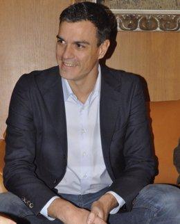 Foto: Pedro Sánchez participará hoy en un foro sobre actualidad política en Salamanca (EUROPA PRESS)