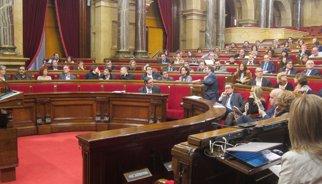 9N.- L'oposició examina al Parlament el 'full de ruta' sobiranista de Mas