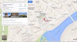 Foto: Google vuelve a recoger la denominación de Mezquita-Catedral (EUROPA PRESS)