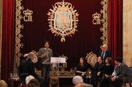 Foto: Jeremías Gamboa, Premio literario 'Tigre Juan' (EUROPA PRESS/CRONISTAR)