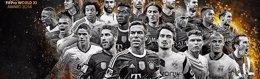 Foto: Ramos, Piqué, Carvajal y Alba, nominados al FIFPro 2014 (FIFA)