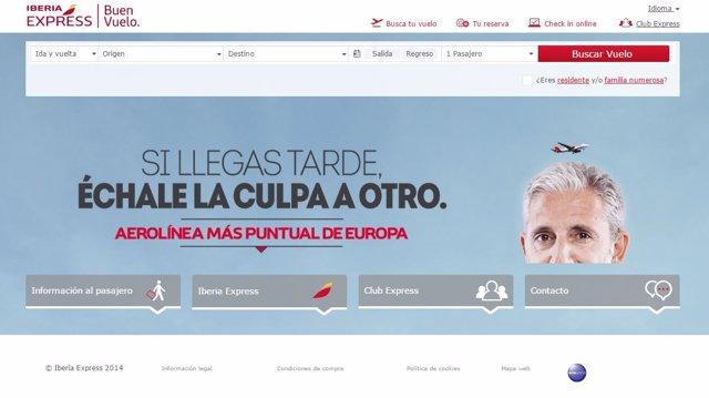 Foto: Indra desarrolla el nuevo portal de e-Commerce de Iberia Express