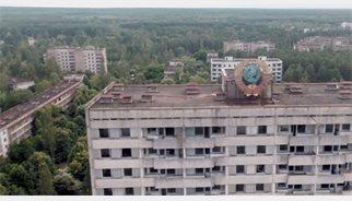 Un viaje en drone a Pripyat, la ciudad fantasma de Chernobyl