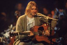 Foto: El primer documental autorizáu sobre Kurt Cobain va estrenase nel 2015 (GETTY)