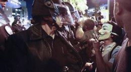 Foto: La Policía de Los Angeles detiene a 130 personas en las protestas por el caso Michael Brown (LUCY NICHOLSON / REUTERS)