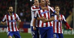 Foto: Crónica del Atlético de Madrid - Olympiacos, 4-0 (REUTERS)
