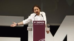 Foto: Pablo Iglesias dará a conocer hoy el primer borrador del programa económico de Podemos para las generales (EUROPA PRESS)