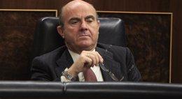 """Foto: Guindos dice que Mato """"no tenía ningún apego al cargo"""" y que estuvo en un Ministerio """"extremadamente complicado"""" (EUROPA PRESS)"""