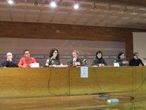 Rueda de prensa de sindicatos y la asociación de agentes medioambientales