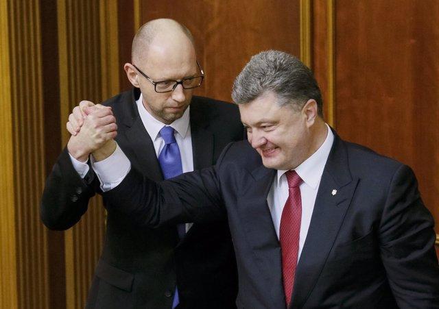 Foto: Yatseniuk consigue el respaldo del Parlamento ucraniano para un nuevo mandato