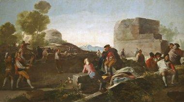Foto: El Prado presenta por primera vez los cartones para tapices de Goya (MUSEO DEL PRADO)