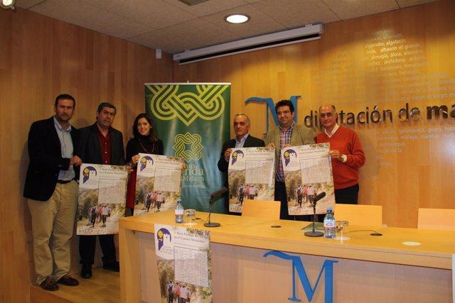 Foto: Málaga contará con una ruta que certifica la alianza entre la Gran Senda y el Camino de Santiago