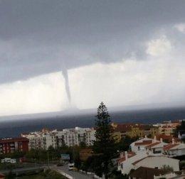 Foto: Un tornado en Málaga alcanza una velocidad de entre 140 y 180 kilómetros por hora (EUROPA PRESS/M.G.)