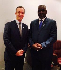 Foto: España y Malí reforzarán la cooperación en la lucha contra la inmigración irregular (MINISTERIO DE INTERIOR)