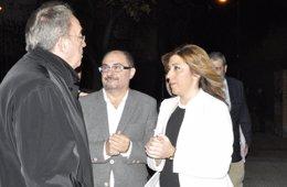 """Foto: Susana Díaz dice que Ana Mato se va """"por corrupción"""" y """"se tenía que haber ido hace tiempo"""" por mala gestión (EUROPA PRESS)"""