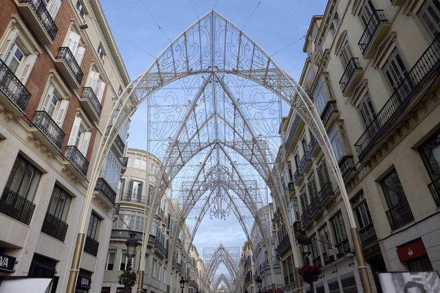 Foto: Málaga capital enciende este viernes su alumbrado navideño, con un presupuesto de más de 570.000 euros
