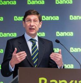 """Foto: Goirigolzarri ve """"razonable"""" que el FROB continúe con las desinversiones en Bankia a partir de 2015 (FUENTE)"""
