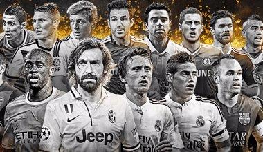 Foto: Xavi, Iniesta, Xabi Alonso y Cesc, nominados al mejor once mundial (FIFA)