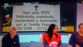 El tancament de RTVV compleix un any