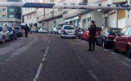 Foto: El agente abatido tras un tiroteo en un atraco a un banco de Vigo recibió cinco disparos y continúa crítico pero estable (EUROPA PRESS)