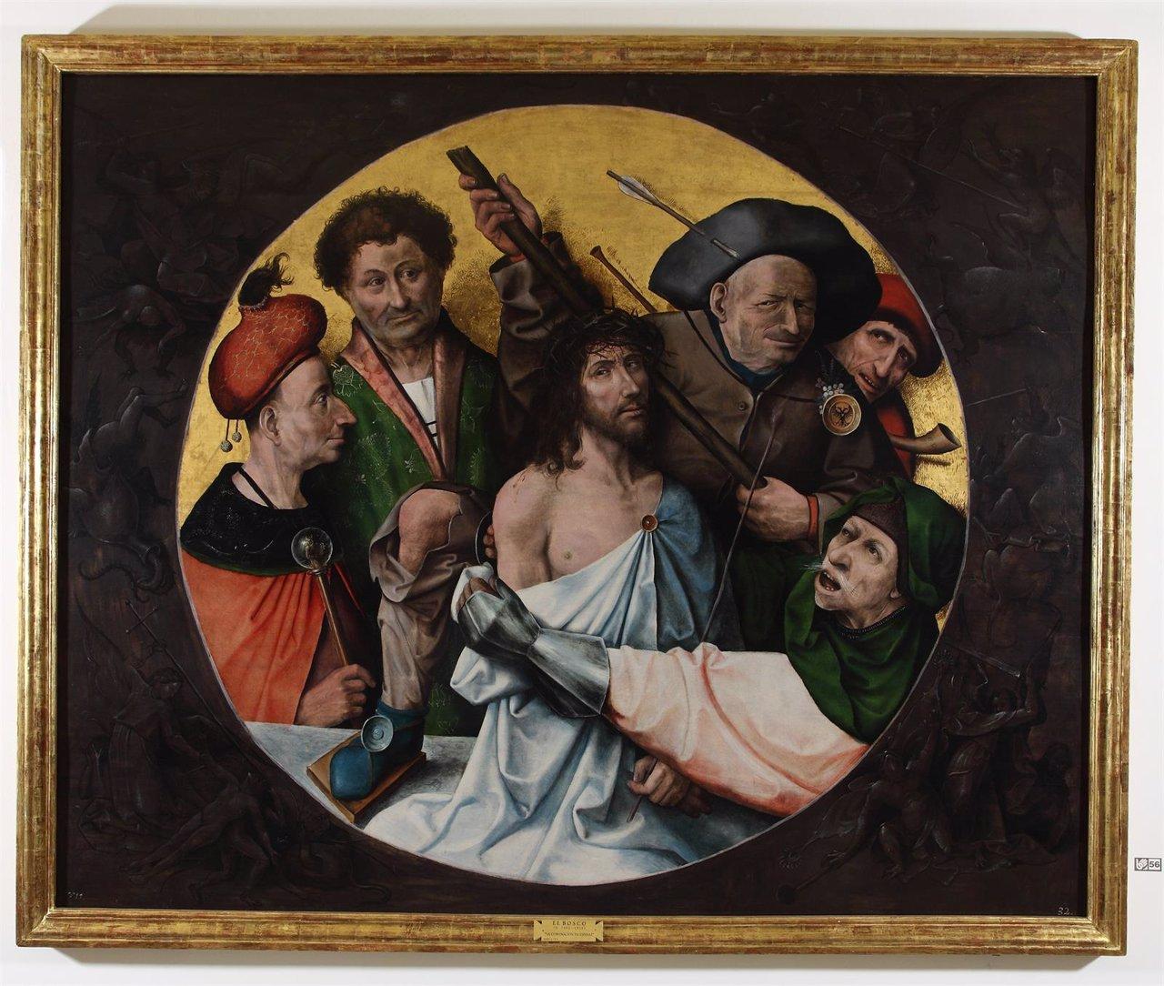 Cristo Coronado de Espinas de El Bosco