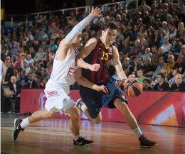 Foto: El Barça sufre para perpetuar su imbatibilidad (EUROLEAGUE)