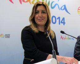 """Foto: Susana Díaz: """"La corrupción me repugna y me rompe el alma"""" (EUROPA PRESS)"""