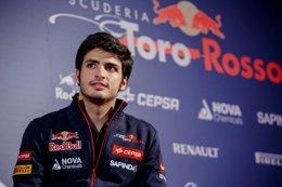 """Foto: Carlos Sainz: """"He llegado a la Fórmula 1 para quedarme"""" (RED BULL)"""
