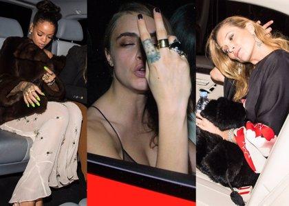 Foto: Rihanna, Cara Delevingne, Kate Moss,  y más, resacón en los BFA