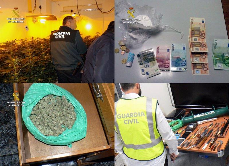 Detenidas 11 personas relacionadas con el tráfico de drogas en ... - Europa Press