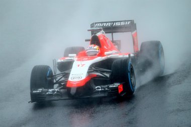 Foto: La FIA dice que Bianchi no disminuyó lo suficiente la velocidad (MARK THOMPSON)