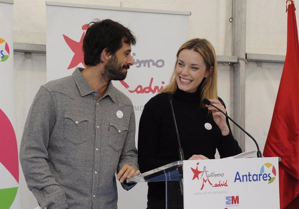 Hugo Silva y Carolina Bang, volcados con el autismo