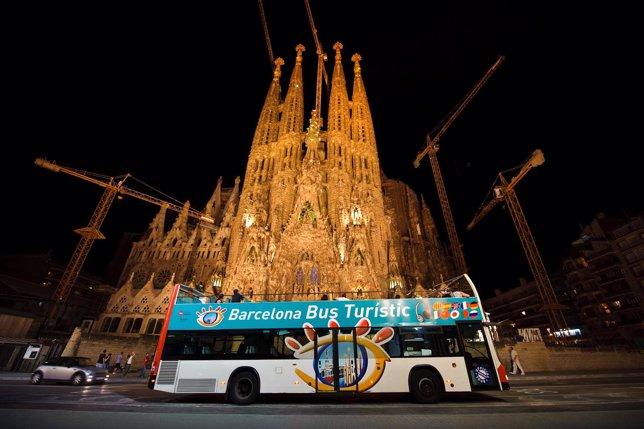 Nighttime Bus Tour Barcelona