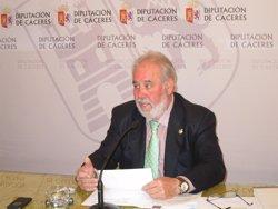 Rafael Mateos, diputado de Hacienda de la Diputación de Cáceres