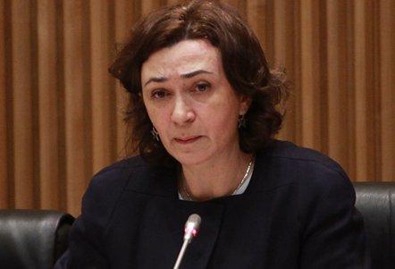 Foto: Dimite Mercedes Vinuesa como directora general de Salud Pública del Ministerio de Sanidad (EUROPA PRESS)