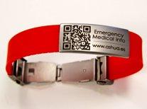 Pulseras identificativas para salvar vida de pacientes con enfermedad ultra-rara