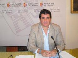 Saturnino Lóppez Marroyo, vicepresidente de la Diputación de Cáceres