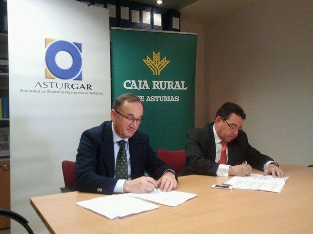 Foto: El Gobierno asturiano agradece a los bancos su implicación en la ampliación de capital de Asturgar
