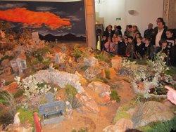 Inauguración del Belén de la Diputación de Cáceres