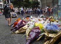 Ofrenda florar por las víctimas del secuestro de Sídney