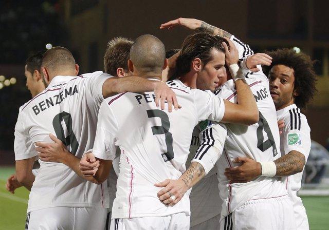 Foto: El Real Madrid, a la final como un ciclón
