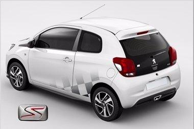 Foto: Peugeot introduce la nueva línea deportiva S en el 108 (PEUGEOT)