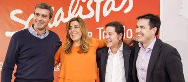 """Foto: Page reclama el voto para un PSOE """"que quiere cambiar"""" (EUROPA PRESS)"""